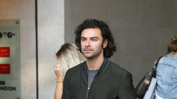 Aidan Turner stars as Poldark