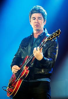 Mad for it: Noel Gallagher