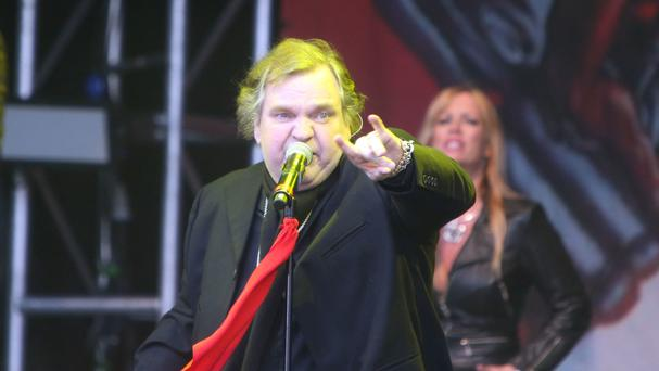 Meat Loaf is suffering from a painful pinched nerve
