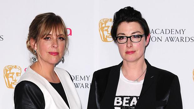 Great British Bake Off presenters Mel Giedroyc (left) and Sue Perkins.