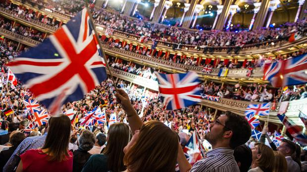 The Last Night of the Proms was reportedly chosen as it is