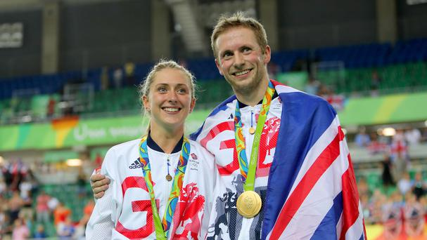 Laura Trott and Jason Kenny scored enormous success at the Rio Games