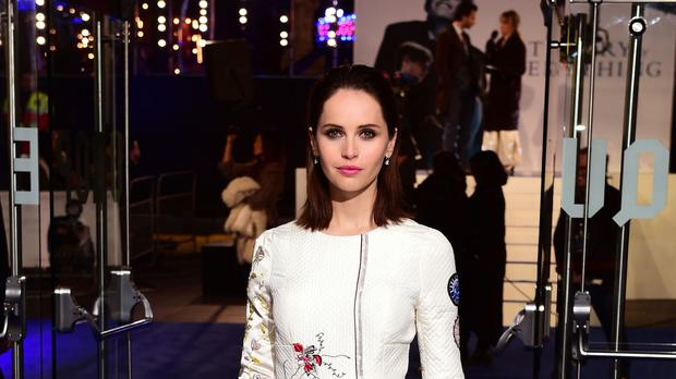 Felicity Jones is taking on the role of a cancer sufferer in A Monster Calls