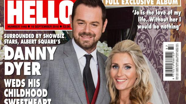 Front cover of the latest edition of Hello! magazine