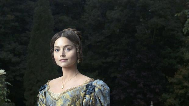 Victoria as played by Jenna Coleman