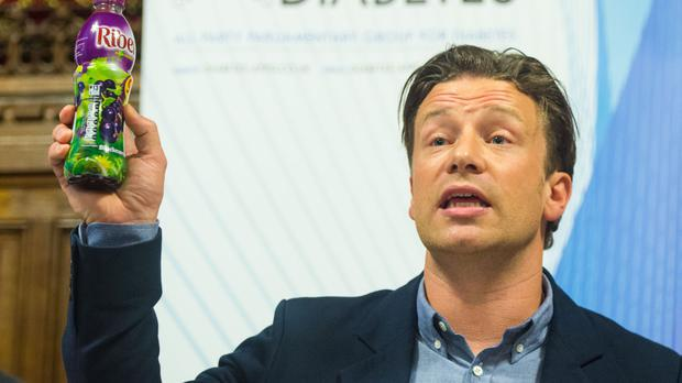 Jamie Oliver says a proposed tax on sugary drinks only came about through his campaigning