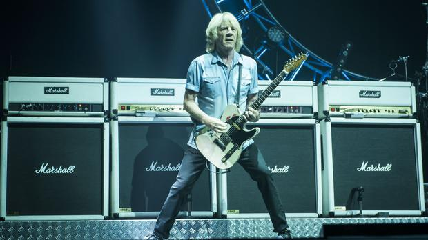 Guitarist Rick Parfitt was taken ill after a show in Turkey on June 14
