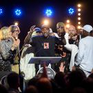 Skepta (real name Joseph Junior Adenuga) is announced as the winner of the 2016 Mercury Prize