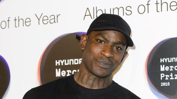 Skepta backstage after he was announced as the winner of the 2016 Mercury Prize