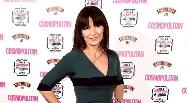 Davina McCall was able to face up to her drug addiction after having a fight with her best friend