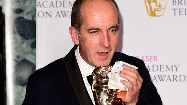 Kevin McCloud after Grand Designs won last year's Bafta for best feature programme