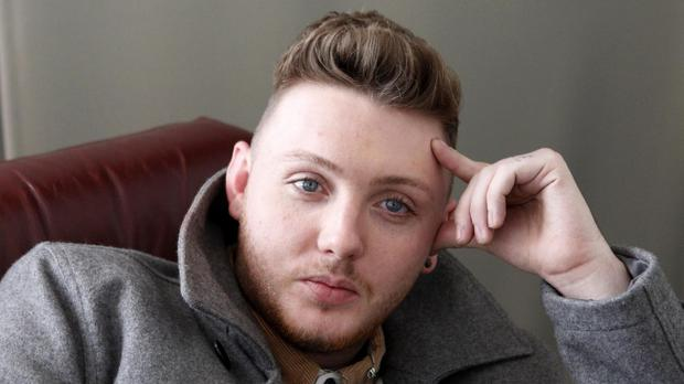 X Factor winner James Arthur is at number two in the charts with comeback single Say You Won't Let Go
