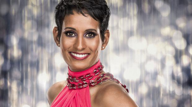 Naga Munchetty is to compete for the glitterball trophy on Strictly Come Dancing (BBC/PA)