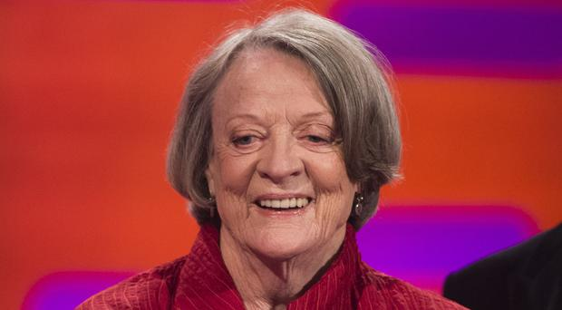 Dame Maggie Smith was joshed by Emmys host Jimmy Kimmel for being absent from the star-studded ceremony