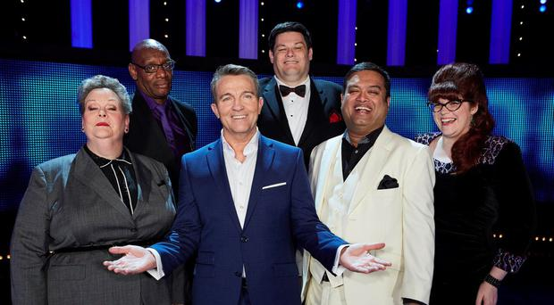 Bradley Walsh and the five chasers will feature in the show