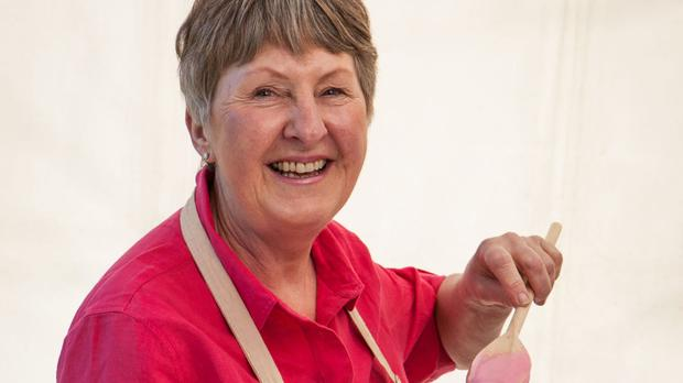 Retired headteacher Val Stones was the fifth contestant to exit The Great British Bake Off (BBC)
