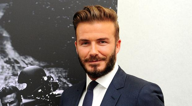 David Beckham accepted Guy Ritchie's nomination for the latest social media craze