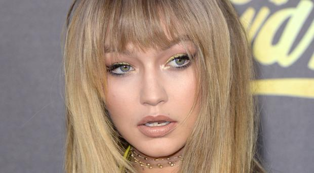Gigi Hadid was targeted by the prankster in Milan