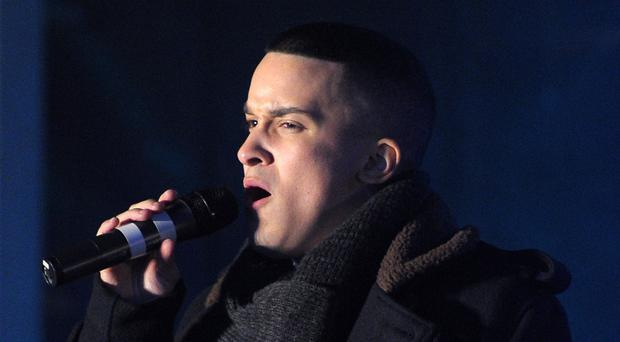 Jahmene Douglas was runner-up on The X Factor in 2012