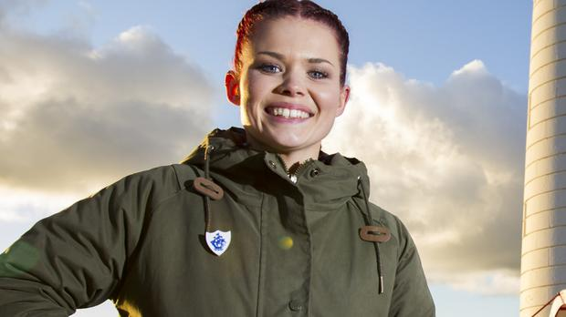 Blue Peter presenter Lindsey Russell is on the panel
