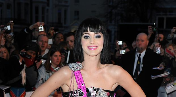 Katy Perry is among those backing the campaign
