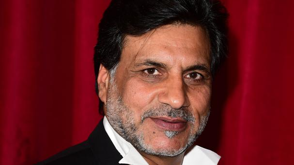 Marc Anwar at last year's British Soap Awards