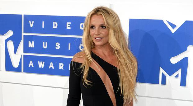 Britney Spears at the MTV Video Music Awards 2016