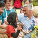 Nadiya Hussain savours victory in The Great British Bake Off