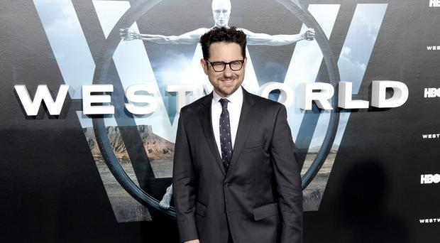 JJ Abrams arrives at the Los Angeles premiere of Westworld (AP)