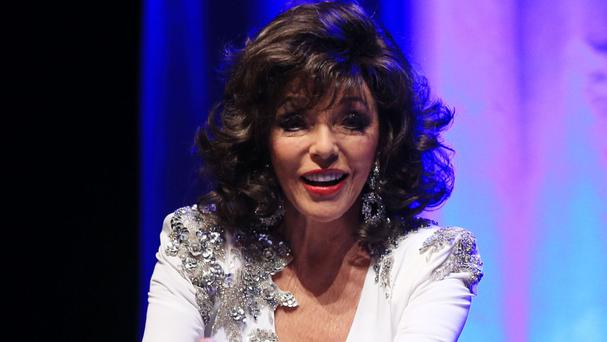 Dame Joan Collins starred as Alexis Carrington in the original TV series