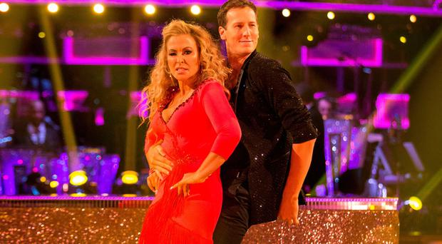 Anastacia and Brendan Cole