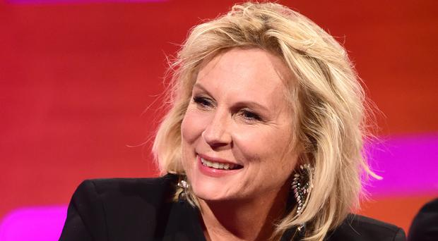 Jennifer Saunders denied the reports