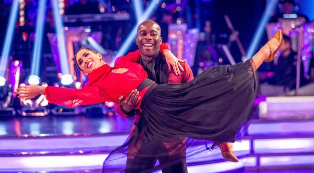 Melvin Odoom and Janette Manrara on Strictly Come Dancing