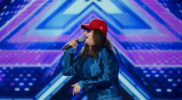 Honey G was put through to the live stages of the X Factory by Overs category mentor Sharon Osbourne (Syco/Thames TV/PA)
