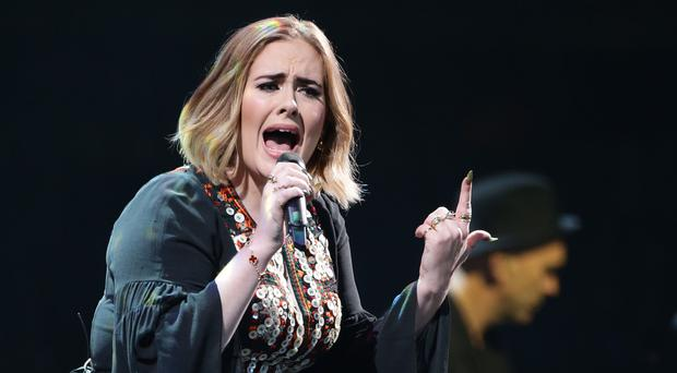 Adele's album 25 has notched up 623,000 combined chart sales in 2016