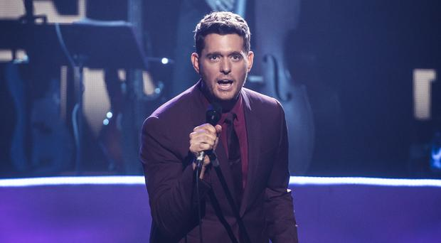 Michael Buble takes over from Ant and Dec, who have hosted the awards for the last two years