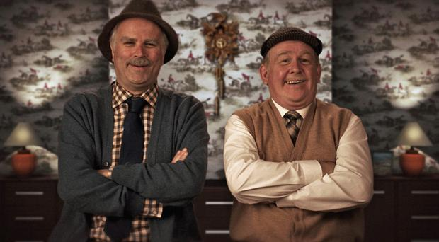 Jack Jarvis, played by Ford Kiernan, and Victor McDade, played by Greg Hemphill, in Still Game (BBC/PA)