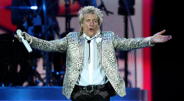 Rod Stewart will be at Buckingham Palace to receive his knighthood
