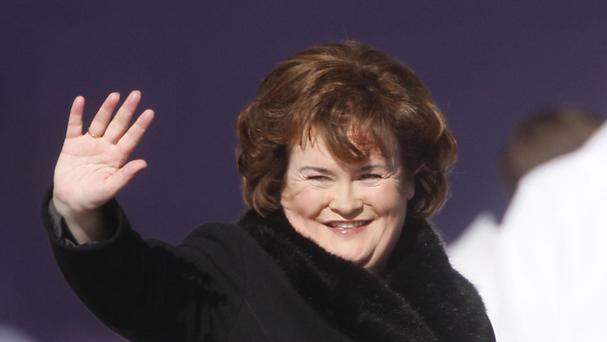 Susan Boyle has announced a new album with Simon Cowell's record label