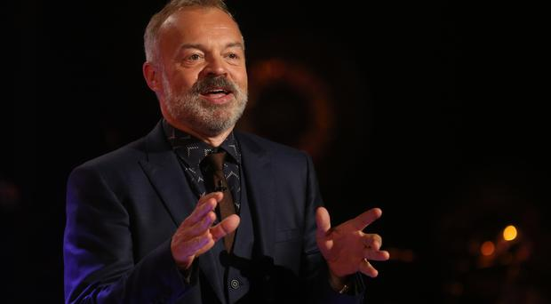 Chat show host Graham Norton