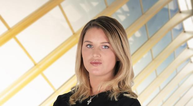 Natalie Hughes is the second person to be kicked off The Apprentice.
