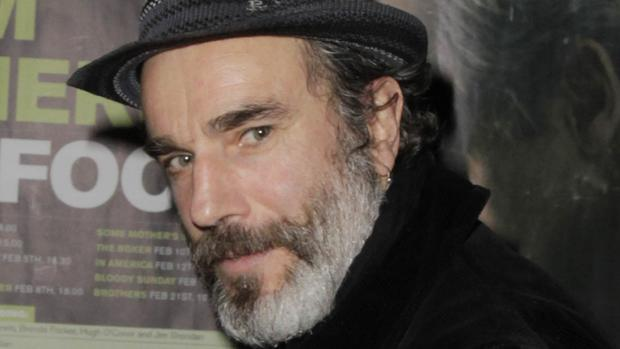 A portrait of Daniel Day-Lewis was among those saved