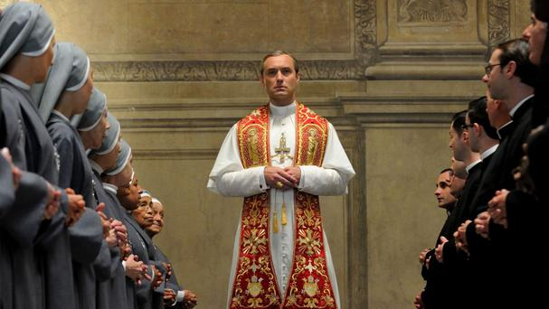 Jude Law plays a chain-smoking, Cherry Coke-swilling pontiff in Sky Atlantic drama The Young Pope