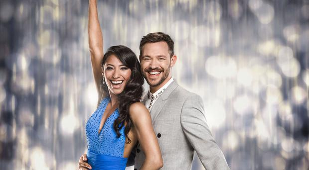 Will Young with Karen Clifton on Strictly