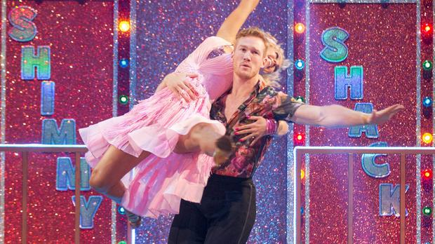 Greg Rutherford said Strictly is a
