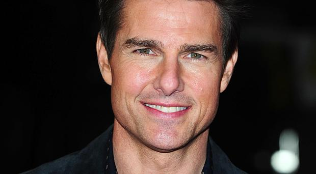 Tom Cruise is plugging his new film Jack Reacher