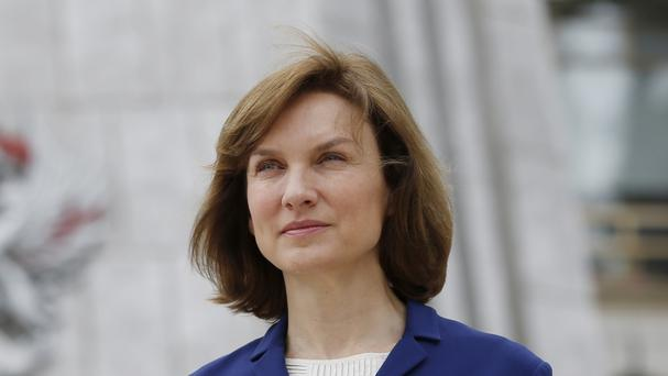 Fiona Bruce caused a stir in May when she was spotted wearing a pair of white sports shoes to read the news