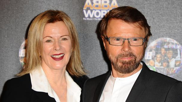Anni-Frid Lyngstad and Bjorn Ulvaeus of Abba, who are officially reuniting for a new project