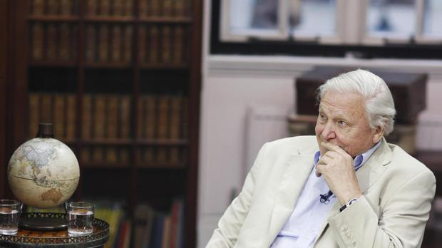Sir David Attenborough defended the BBC