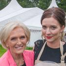 Mary Berry with Candice Brown, who has been crowned champion of this year's Great British Bake Off.